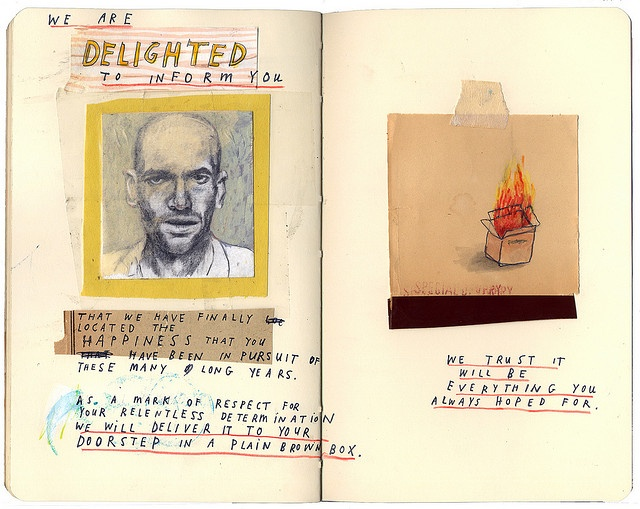 "Art Journal | David Fullarton: ""Special Delivery"""