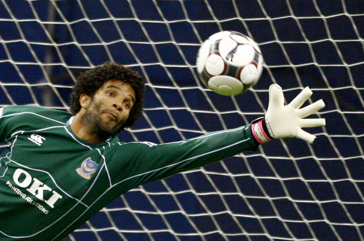 David James, England Goal Keeper..Not a good one though...;]]