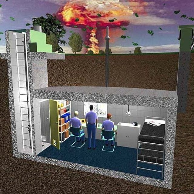 build and underground bunker