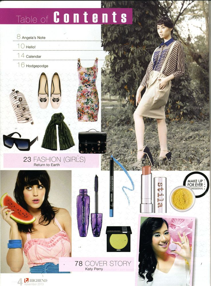 (X)S.M.L wardrobe is appeared on High End Teen - November 2013