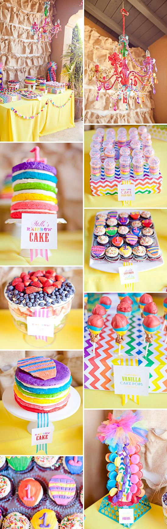 Looking for lots of color! I love the multi-color chevron pattern in this theme