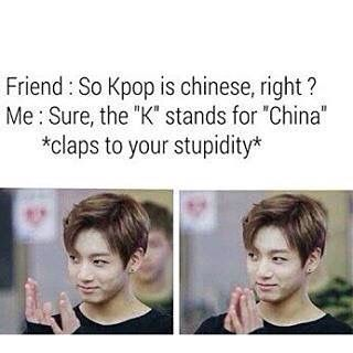 Yeah, but in hungarian China is really with K, so my friend really think it is chinese.