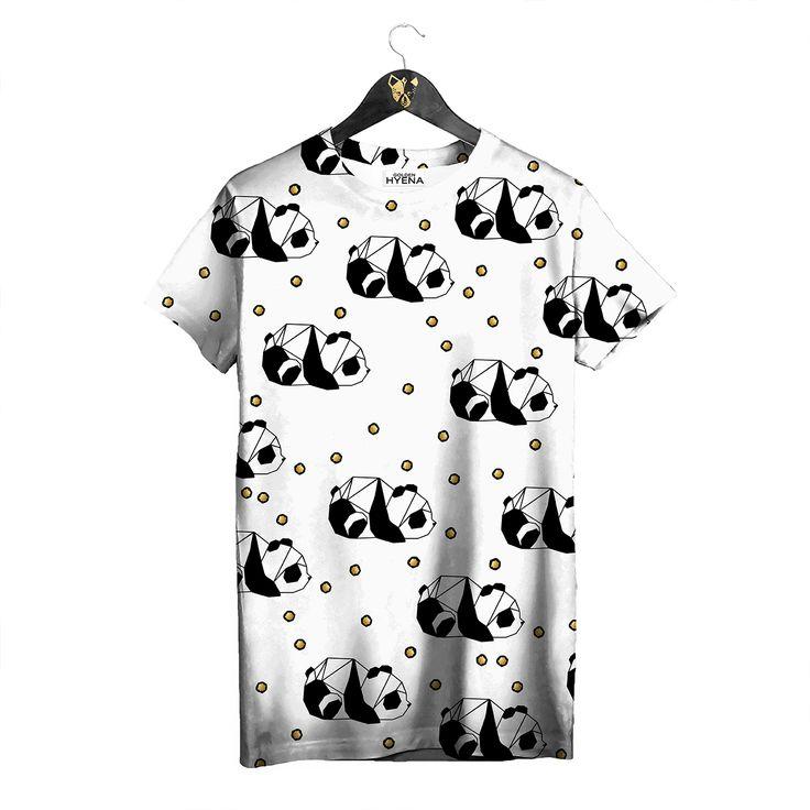 Baby Panda T-shirt by Golden Hyena #goldenhyena