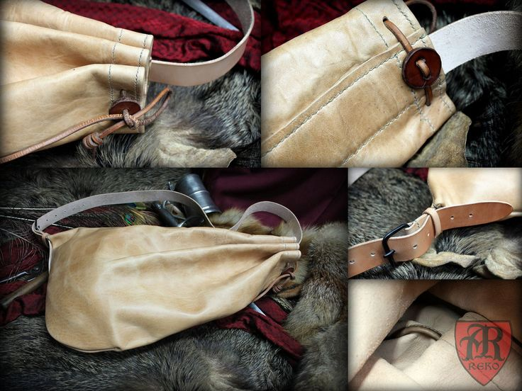 Snapsack rucksack 17th century leather