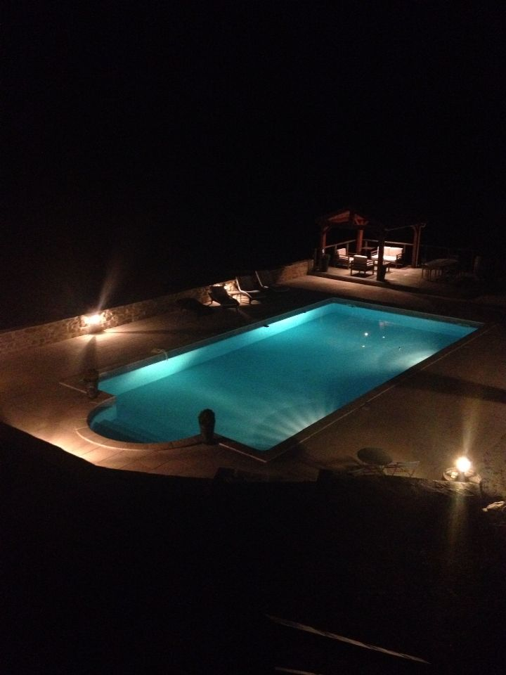 Pool in the south of France.