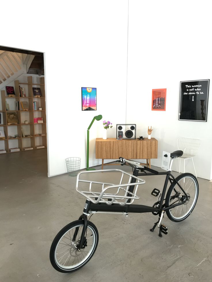 Biomega Pek Cargo bike. Available at Austere.