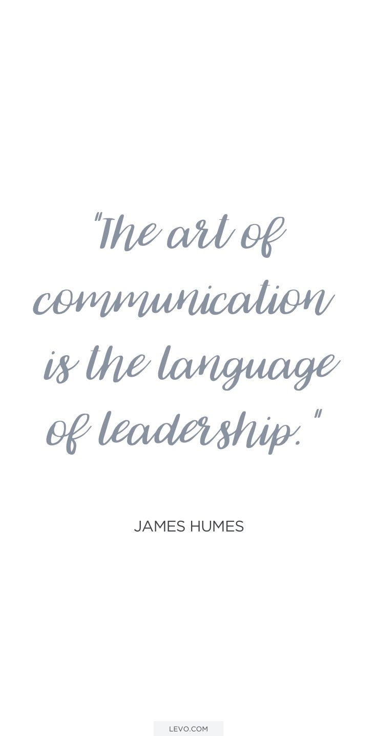 The art of communication. http://levo.im/levo-ms-teams