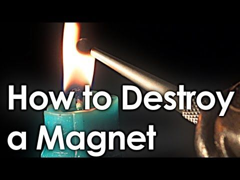 How to Destroy a Magnet (+ interactive periodic table) - YouTube - The Interactive Periodic Table is strangely addictive...great videos for each element. Be certain to give it a try!