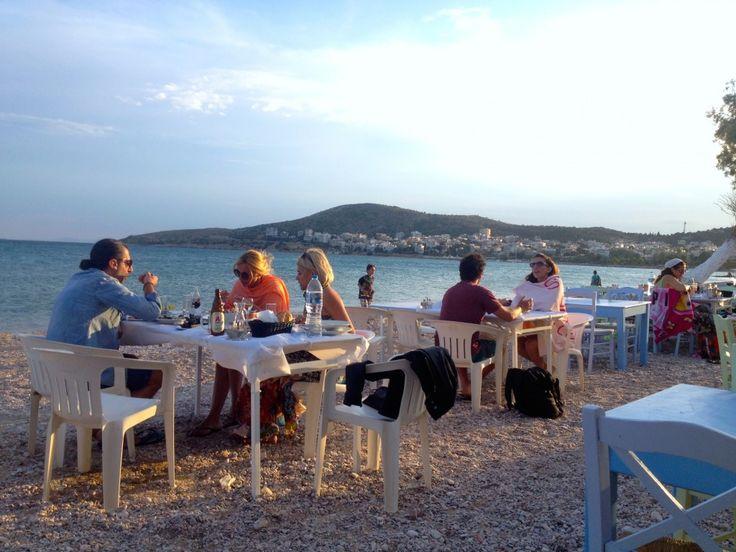 Aperanto Galazio / Nautical Club Varkiza #AthensCoast