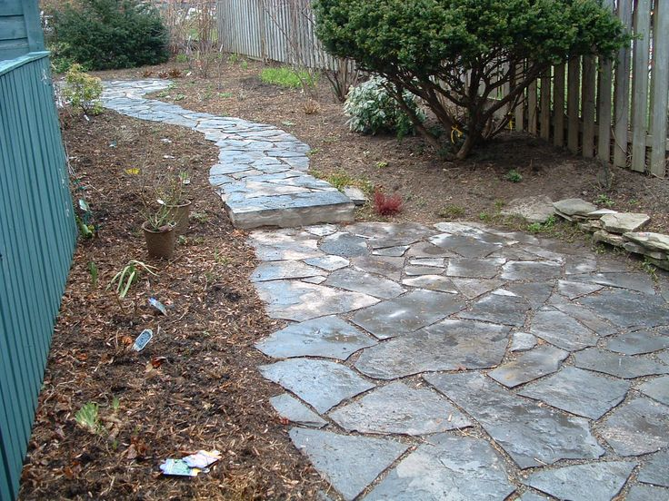 Flagstone Path Designs : Best images about flagstone paths walkways on