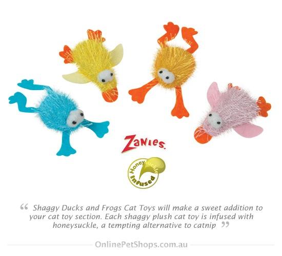 Shaggy Ducks & Frogs