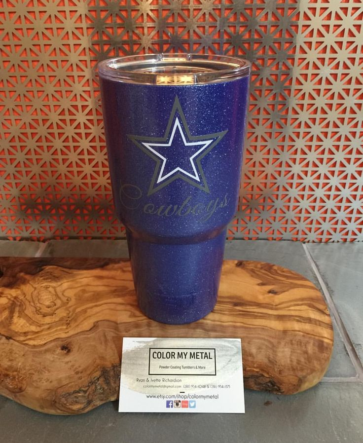 Get your own personalized Yeti tumbler, RTIC tumbler, yeti cup, RTIC cups. Dallas Cowboys yeti