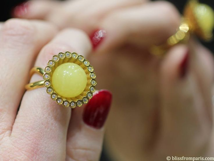 Bague NAC Amber Photo Blissfromparis