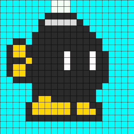 best 25 pixel art mario ideas on pinterest crochet 8 bits hama mario and crochet super mario. Black Bedroom Furniture Sets. Home Design Ideas