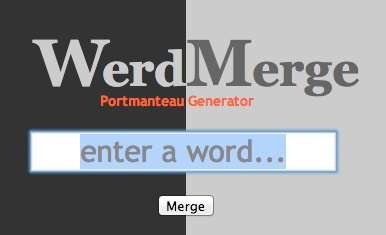 WerdMerge.com - A Portmanteau Generator With Phonemes