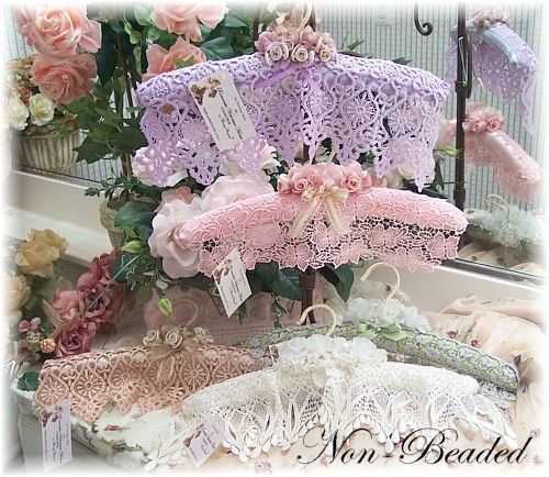 Romantic Victorian Home Collection: Victorian Accessories...Decorative Hangers