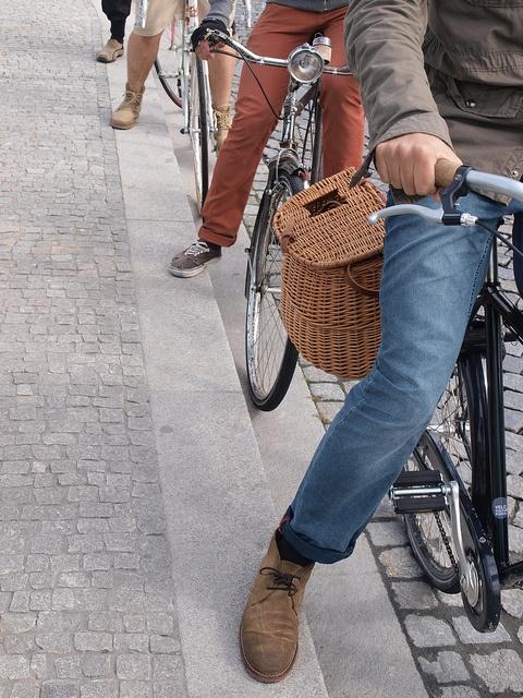 Bike & clarks desert boots