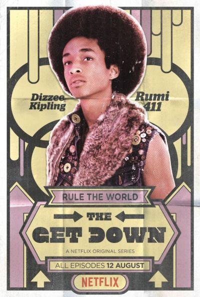 El Puffs. The Get Down promo posters of new Netflix original series