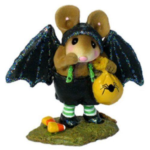 Wee Forest Folk Little Halloween Bat M-345A. #Halloween