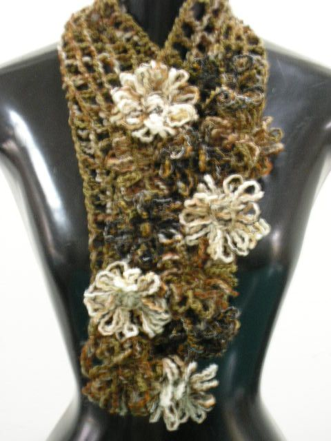 sciarpa con il telaio di Mariagiò