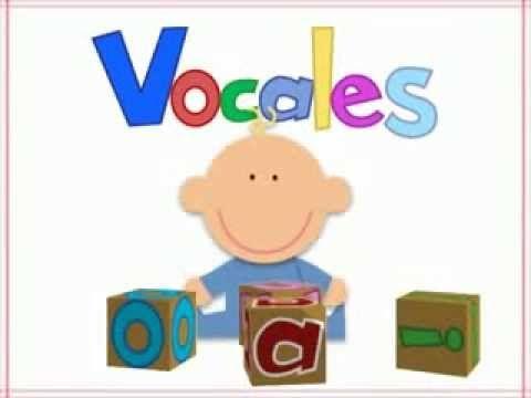 Aprende Las Vocales - Niño de papel Estimulación infantil(0 y 3 años)