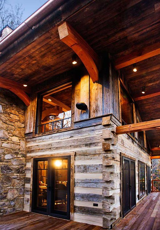 Winterwoods Luxury Log and Timber Frame Homes, Nellysford, VA | - Luxury Log House