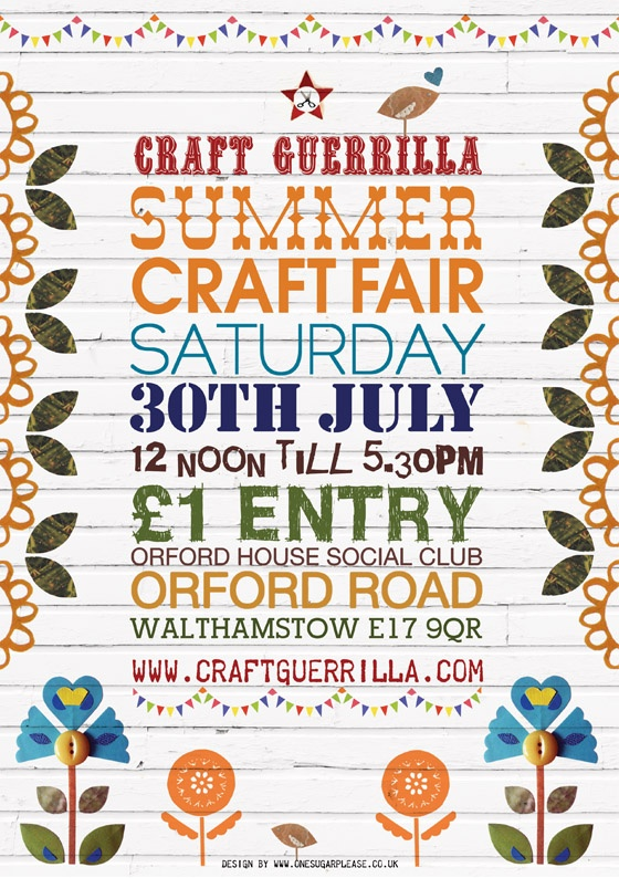 Poster By Graphic Designer Rebecca Emery The Craft Loving Folk At