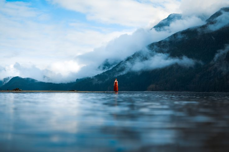 Between Water and Sky - A rather good moment from a few weeks ago. :)