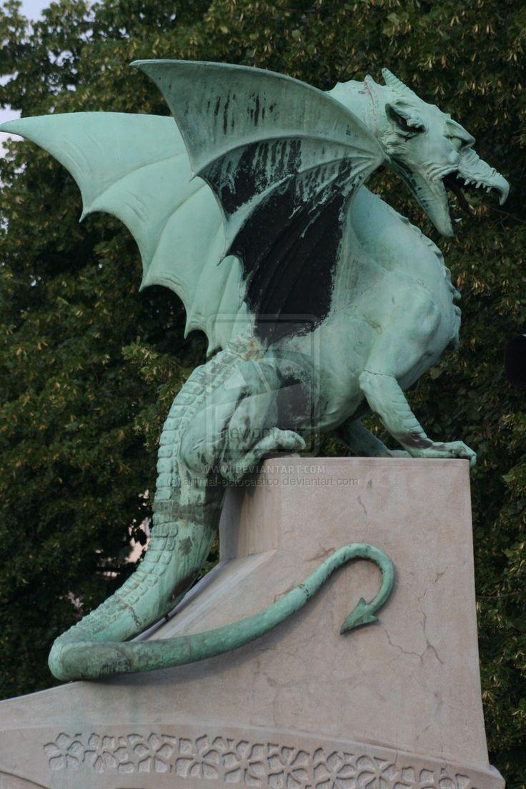 The Dragon of Ljubljana 2 by animal-estocastico.deviantart.com on @deviantART