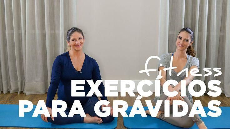 Fitness: Exercícios para a grávida fazer em casa