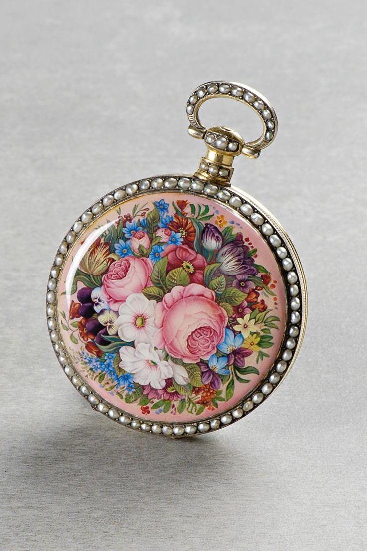 A rare, very fine gold enamel half-pearl and diamond set pendant form watch designed as a lyre with concealed dial and visible balance Case: gold, enamel, half-pearls, diamond. , view images and see past prices for (*) Bovet à Fleurier, Case No. 935, 56 mm, 129 g, circa 1840. Invaluable is the world's largest marketplace for art, antiques, and collectibles.