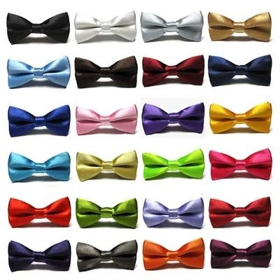 Children bow tie with clip at back. Range of colours $1.36 from Aliexpress