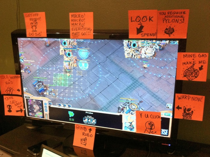 I need these post-its on my computer, but I need to customize them for Terran.  And perhaps I need to add an expansion reminder.
