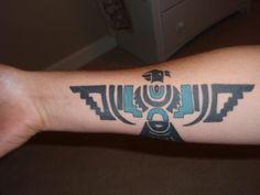 Thunderbird Tattoo on Pinterest | Native American Tattoos, Native ...