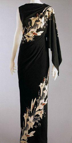 Elsa Schiaparelli, 1935, evening gown