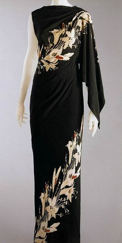 Elsa Schiaparelli, 1935, evening gown