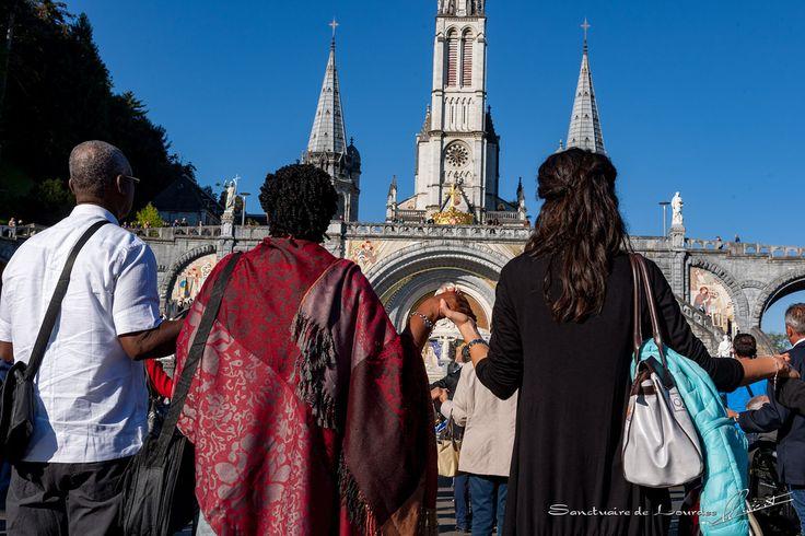 Messe sur l'esplanade de l'UNITALSI | by Sanctuaire Notre-Dame de Lourdes