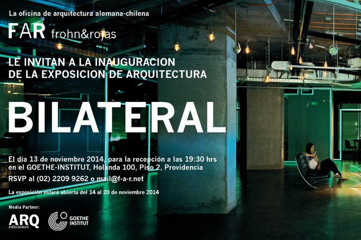 """Exposición """"BILATERAL"""" / Santiago, Chile"""