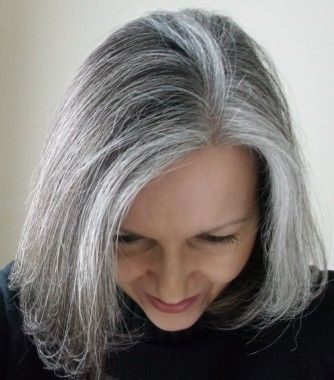 Long Silver Hair   Mature Web Collection - long grey straight hair styles (1114)