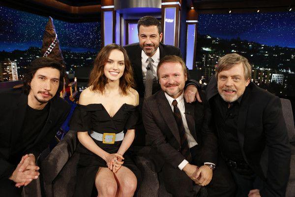 Mark Hamill And Adam Driver Photos Photos Abc S Jimmy Kimmel Live Season 15 Star Wars Actors Mark Hamill Star Wars Watch