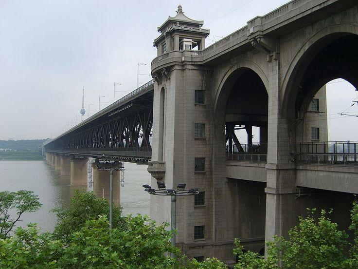 * Wuhan Yangtze River Bridge * Wuhan, China.