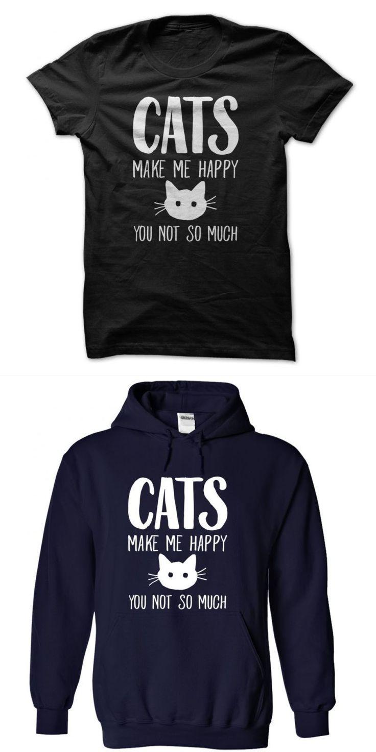 Cheshire Cat Vans T Shirt Cats Make Me Happy You Not So Much #70s #cat #t #shirt #cat #t #shirt #diy #puma #powercat #5.10 #t-shirt #skull #made #of #cats #t #shirt