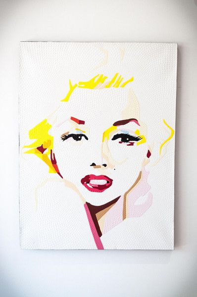 MARILYN IN COLOUR