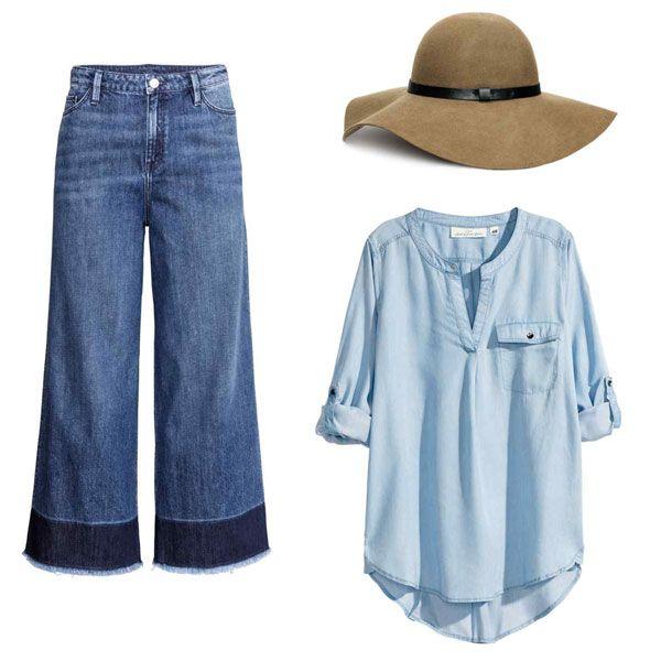 #pantaloncampana #denim #hippielook #boholook #springlook #modaprimavera #lookprimavera #pantalonesdecampana #elrincondemoda #erdm
