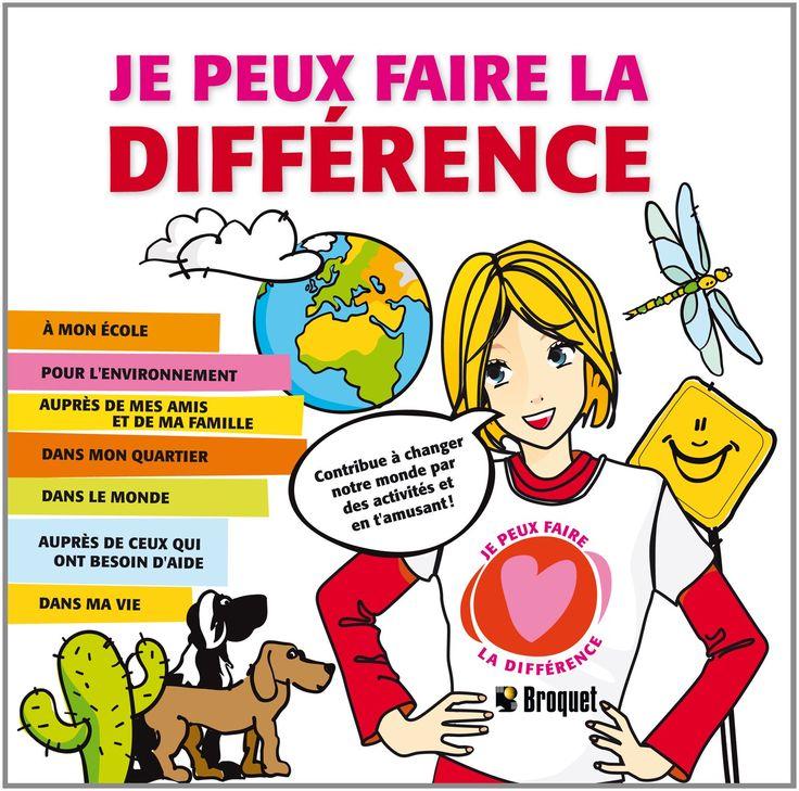 je peux faire une différence: Tracy Marsh: 9782896540686: Amazon.com: Books