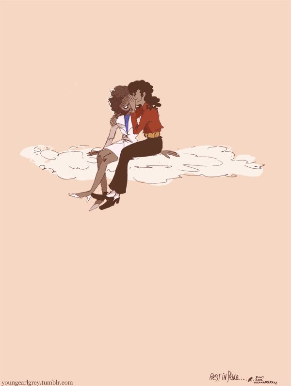 #MJ and #Whitney <3