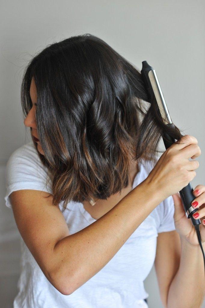 how to create beachy waves on short hair via @mystylevita - 1 (7)