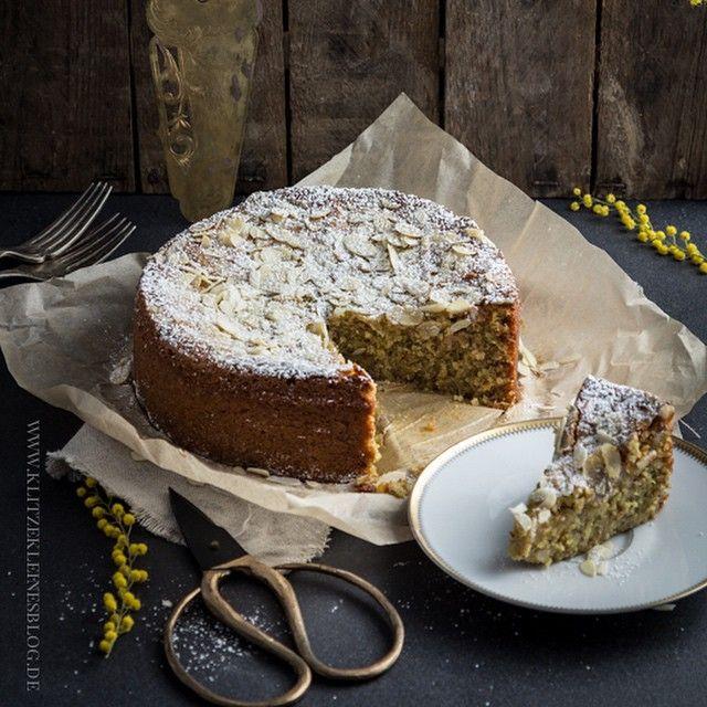 Mandelkuchen mit Safran und ganz ohne Mehl – Hallelujah, mein saftigstes Kuchenglück! | KLITZEKLEIN