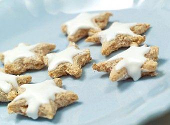 Norske Julekaker: #Kanelstjerner (Zimtsterne)