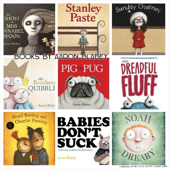 Books by Aaron Blabey